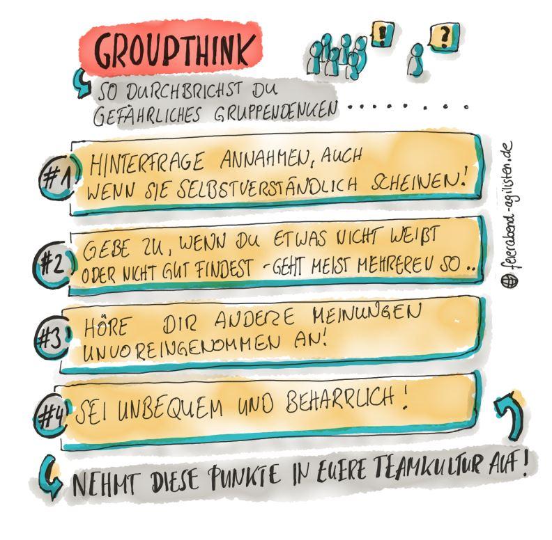 Groupthink - so durchbrichst du dieses Denkmuster