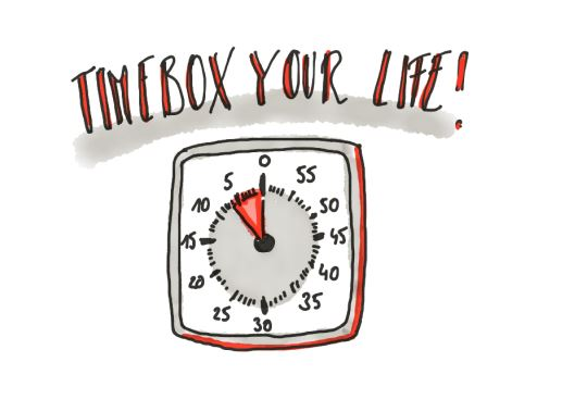 Timebox your life