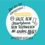#4 - Halte dein Smartphone ans andere Ohr
